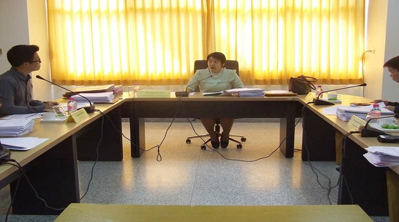 สถาบันวิจัยและพัฒนา มหาวิทยาลัยราชภัฏเลยจัดการประชุมคณะกรรมการกองทุนสนับสนุนงานวิจัย