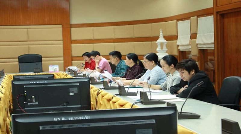 สถาบันวิจัยและพัฒนา มหาวิทยาลัยราชภัฏเลย จัดประชุมคณะกรรมการบริหารจัดการงานวิจัย เพื่อปรึกษาหารือเกี่ยวกับการจัดการจัดทำข้อเสนอโครงงานวิจัย เพื่อขอรับงบประมาณแผ่นดินประจำปีงบประมาณ 2563