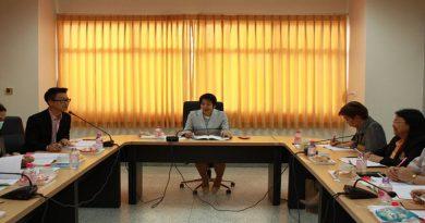 ประชุมคณะกรรมการดำเนินงานโครงการบริการวิชาการแก่สังคม ประจำปีงบประมาณ พ.ศ. 2562