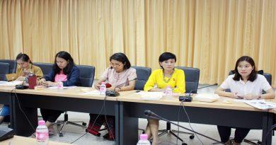 """ประชุมแผนการดำเนินงาน """"โครงการสนับสนุนวิชาการพัฒนาระบบเกษตรกรรมเพื่ออาหารปลอดภัยโดยชุมชนท้องถิ่น"""""""