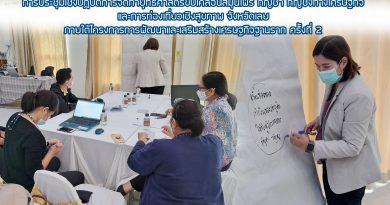 ประชุมเชิงปฏิบัติการจัดทำยุทธศาสตร์ขับเคลื่อนสมุนไพร กัญชา กัญชงทางเศรษฐกิจ และการท่องเที่ยวเชิงสุขภาพ จังหวัดเลย ครั้งที่ 2